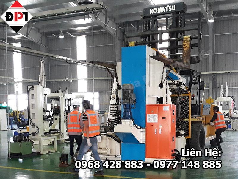 Quy trình đóng gói máy móc xuất khẩu đạt chuẩn