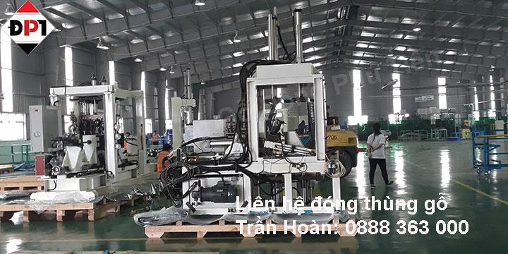 Đóng gói máy móc công nghiệp xuất khẩu uy tín giá rẻ