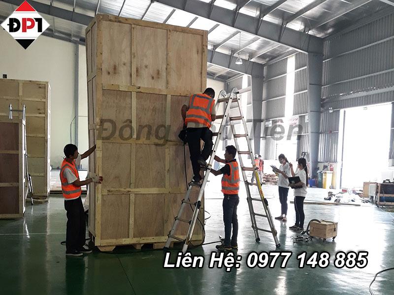 Quy trình đóng thùng gỗ chất lượng cao tại hưng yên
