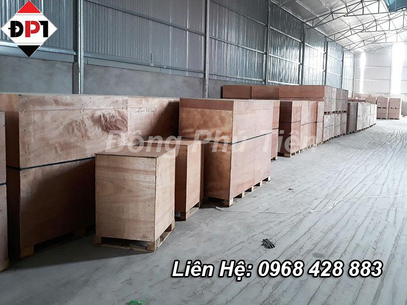 Vì sao nên đóng hộp gỗ cho hàng hóa