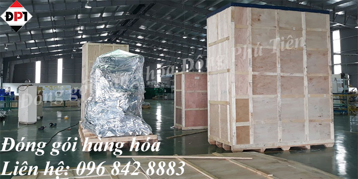 su dung thung go dong goi hang hoa may moc
